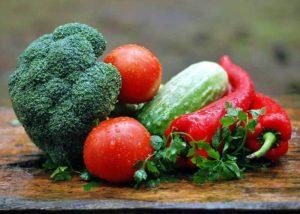 Frisches Gemüse - Hochbeet